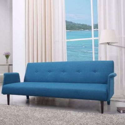 Westminster Convertible Sofa Bed  in Blue - ADC-WES-CSB-NLX-BLU