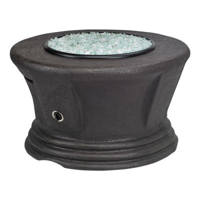 San Simeon Chat Height Fire Pit-Brown-Without Granite - AFP-SAN