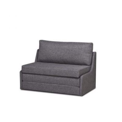 Albany Dark Gray Convertible Loveseat Sleeper - ADC-ALB-CLS-NMX-GRA