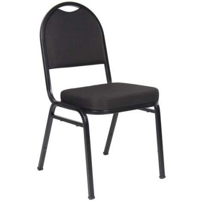 Black Crepe Banquet Chair - B1500-BK-4