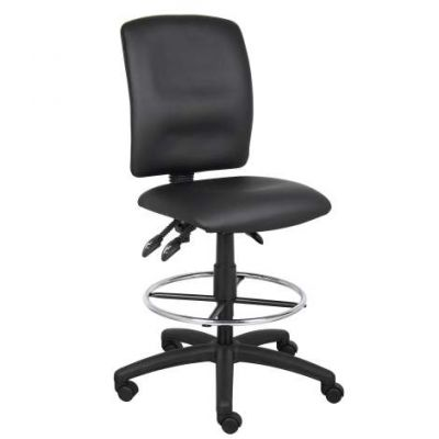 Multi-Function LeatherPlus Drafting Stool - B1645