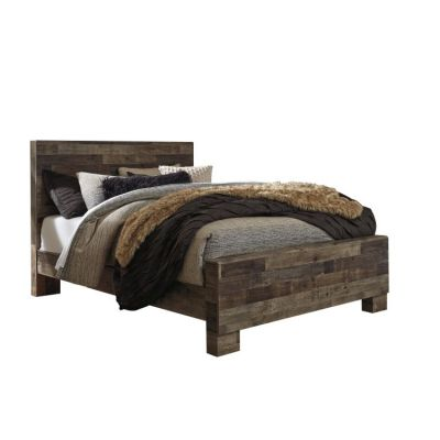Derekson Queen Panel Bed in Gray - 001670_Kit
