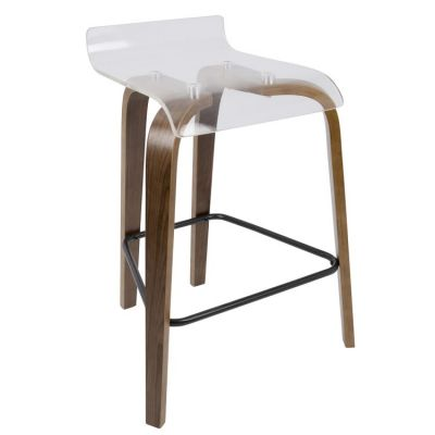 Clarity Counter Stool - B26-CLRT-WL-CL