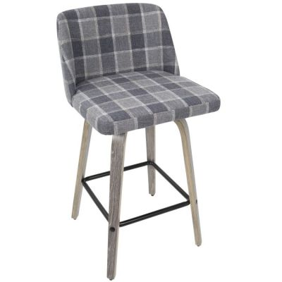 Toriano Counter Stool - B26-TRNO-LGY-BU