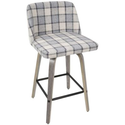 Toriano Counter Stool - B26-TRNO-LGY-GY