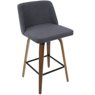 Toriano Counter Stool - B26-TRNO-WL-BU