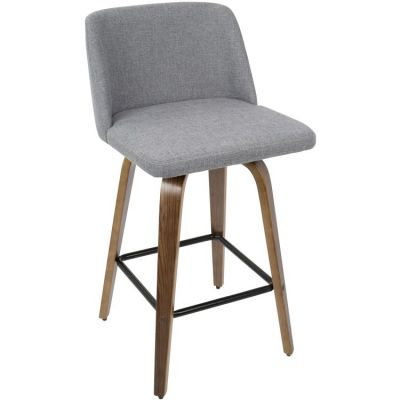Toriano Counter Stool - B26-TRNO-WL-GY