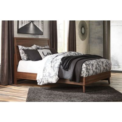 Daneston Queen Bed in Brown/Graphite - 001673_Kit