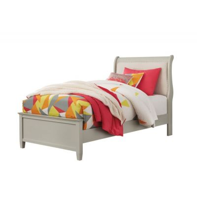 Jorstad Twin Bed in Gray - 001676_Kit