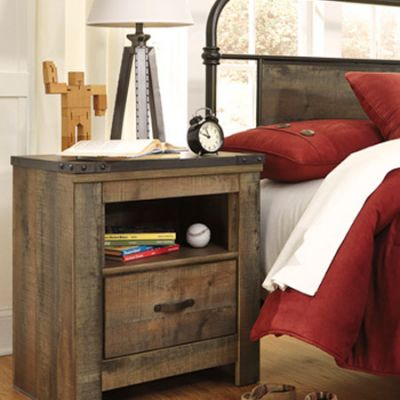 Trinell One Drawer Night Stand - B446-91