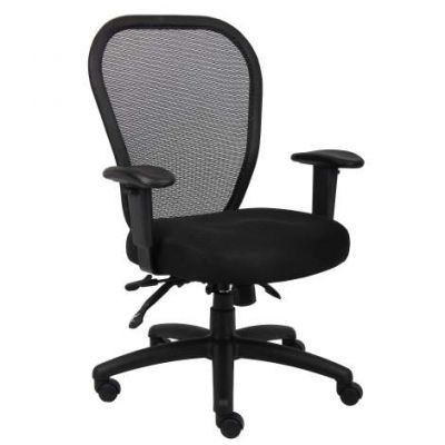 Mesh Chair with 3 Paddle Mech
