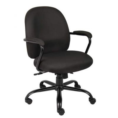 Heavy Duty Task Chair in Black - B670-BK