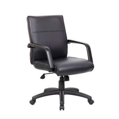 Mid Back Executive Chair In LeatherPlus - B686