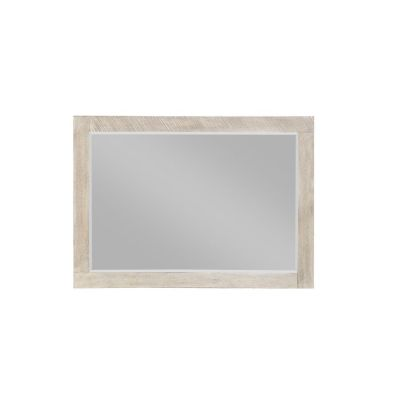 Nova Landscape Mirror in Sterling Gray - B700-24