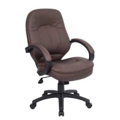 LeatherPlus Executive Chair in Brown - B726-BB