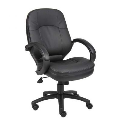 LeatherPlus Executive Chair in Black - B726-BK