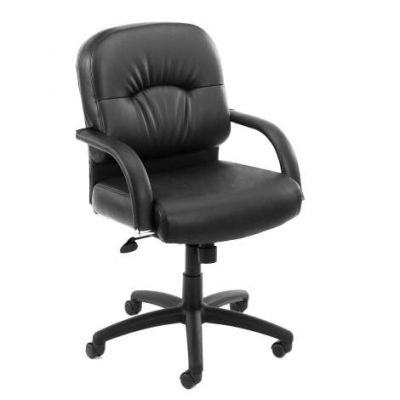 Mid Back Caressoft Chair In Black - B7406