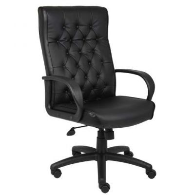 Button Tufted Executive Chair In Black - B8501-BK