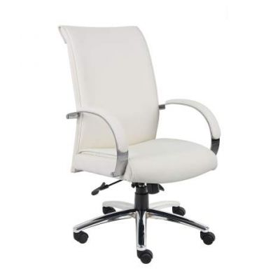 CaressoftPlus Executive Chair in White - B9431-WT