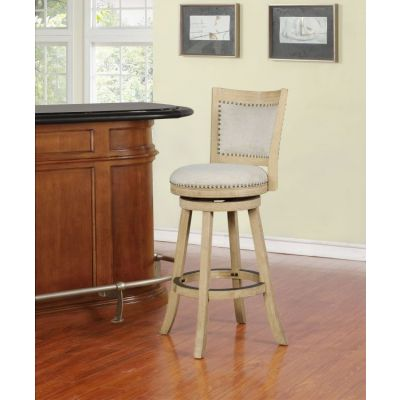 Sydnee Natural Bar Stool - BS028ALM01U