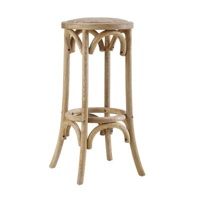 Rae Rattan Seat Backless Bar Stool - BS154RATT01U