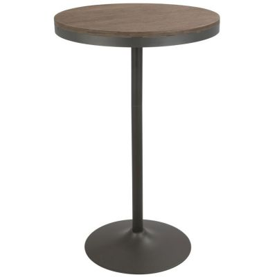 Dakota Bar Table - BT-DAK-GY-BN