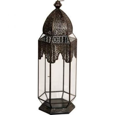 Carriage I Candle Holder in Black - VEN047-CAN124