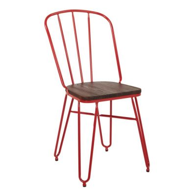 Charleston Chair in Red(Set of 2) - CHN21A2-9