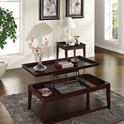 Clemson End Table in Multi-Step Cherry - CL900E