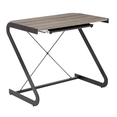 Clark Writing Desk in Dark Driftwood - CLK71-DDW