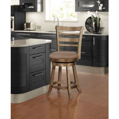 Southern Wood Swivel Counter Stool - CS017CLV01U