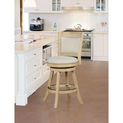 Sydnee Natural Counter Stool - CS027ALM01U