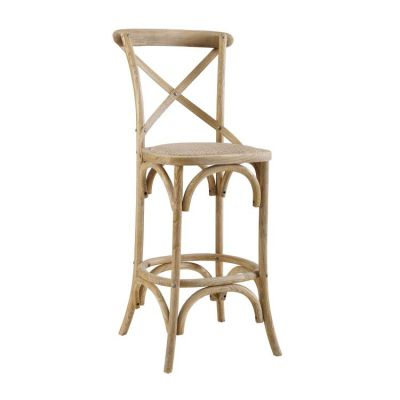 Roxy Gray Wash Counter Stool - CS031GRY01ASU