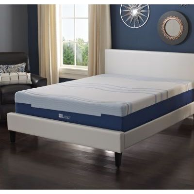 Cool Lux Gel Flex Foam 8'' Queen Mattress - IMGELL1008QN