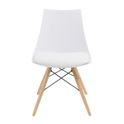 Annette Dining Chair White in White - D118CHR-32WHT-2PK-K