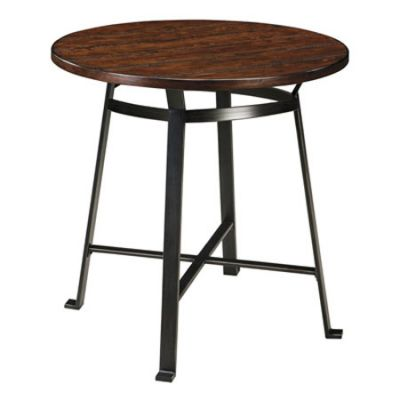 Challiman Round Dining Room Bar Table - D307-12