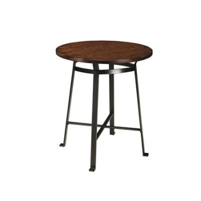 Challiman Round Dining Room Counter Table - D307-13
