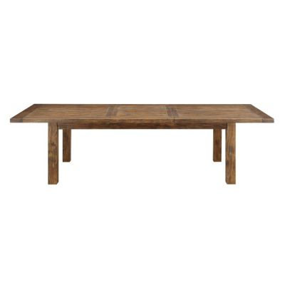 Chambers Creek Dining Table with Butterfly Leaf in Brown - D412-10
