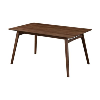 Simplicity Rectangular Dining Table in Walnut Brown - D550-12