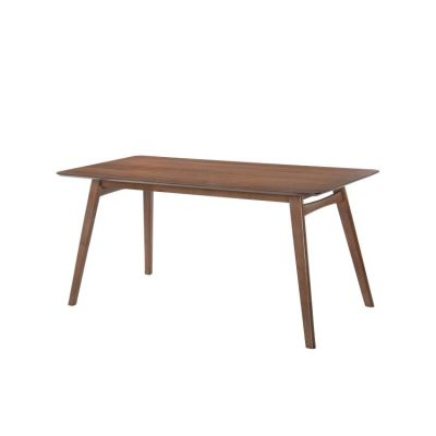 Simplicity Rectangular Dining Table in Walnut Brown - D550-16