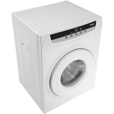 FRONT LOAD DRYER, SS DRUM, 4 DRYING PROGRAMS, VENTED - WHITE - DDY060WDB