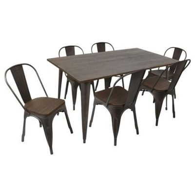 Oregon 7 Piece Dining Set - DS-TW-OR6036-E7