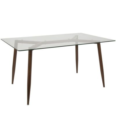 Clara Stoneberry Dining Table - DT-CLRA-WL-CL