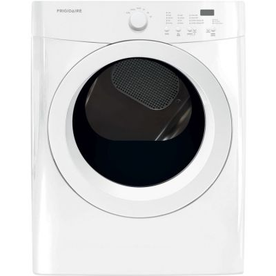 7.0 CF DOE Electric Dryer, Reversible Door - FFQE5000QW