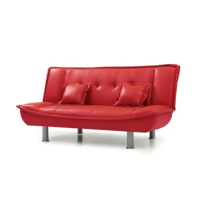 Sofa Bed in Red - VEN060-G134-S