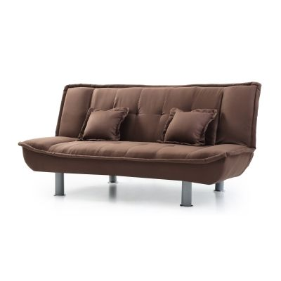 Sofa Bed in Chocolate - VEN060-G139-S