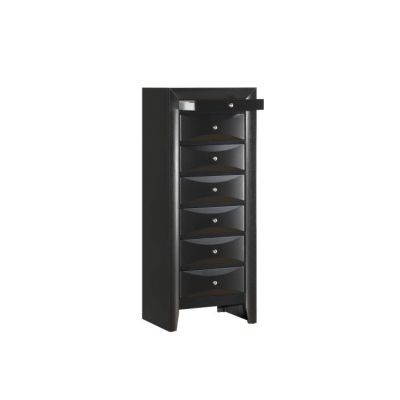 7 Drawer Lingerie Chest in Black - G1500-LC