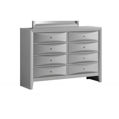 8 Drawer Dresser in Silver - G1503-D