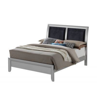 Bob's Queen Bed in Silver - G1503A-QB