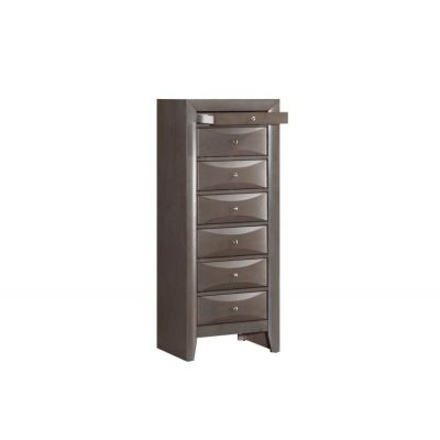 7 Drawer Lingerie Chest in Gray - G1505-LC